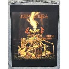 SEPULTURA back patch printed Arise