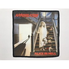 ANNIHILATOR patch printed Alice In Hell