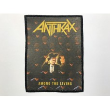 ANTHRAX patch printed Among The Living