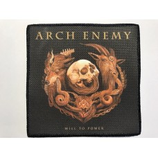 ARCH ENEMY patch printed Will To Power