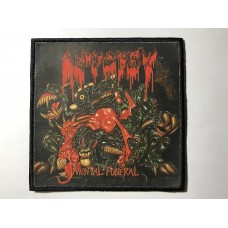 AUTOPSY patch printed Mental Funeral