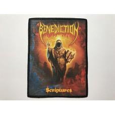 BENEDICTION patch printed Scriptures