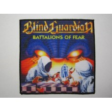 BLIND GUARDIAN patch printed Battalions of Fear