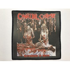CANNIBAL CORPSE patch printed Butchered at Birth