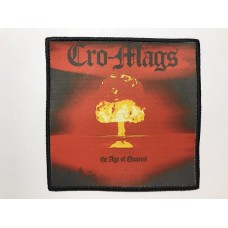 CRO-MAGS patch printed The Age of Quarrel