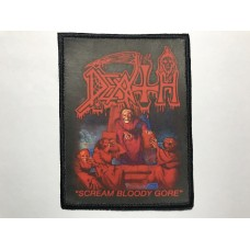 DEATH patch printed Scream Bloody Gore