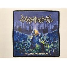 DEATHRAISER patch printed Violent Aggression