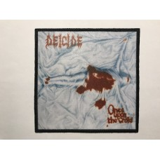 DEICIDE patch printed Once upon the Cross