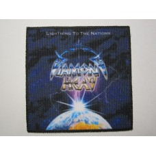 DIAMOND HEAD patch printed Lightning To The Nations
