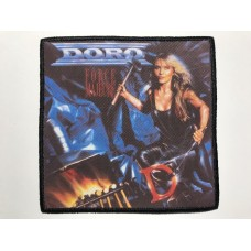 DORO patch printed Force Majeure