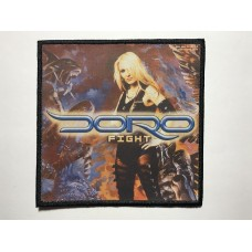 DORO patch printed Fight