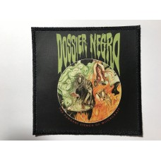 DOSSIER NEGRO patch printed The Pungent Stench of Witchcraft