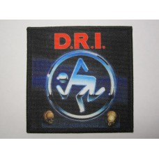 D.R.I. patch printed dri Crossover