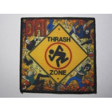 D.R.I. patch printed dri Thrash Zone