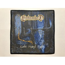 ENTOMBED patch printed Left Hand Path