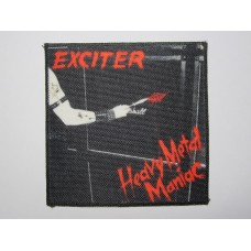 EXCITER patch printed Heavy Metal Maniac