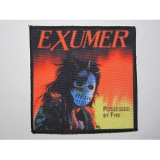 EXUMER patch printed Possessed By Fire
