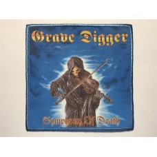 GRAVE DIGGER patch printed Symphony Of Death