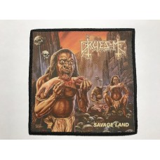 GRUESOME patch printed Savage Land