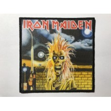 IRON MAIDEN patch printed
