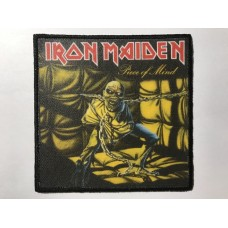 IRON MAIDEN patch printed Piece Of Mind