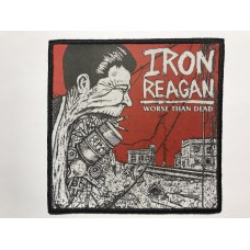 IRON REAGAN patch printed Worse Than Dead