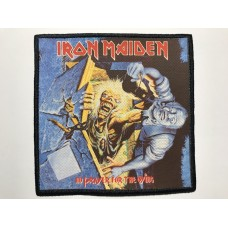 IRON MAIDEN patch printed No Prayer For The Dying