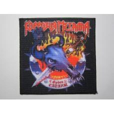 KORROZIA METALLA patch printed Order Of Satan Коррозия Металла Орден Сатаны