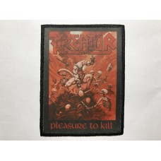 KREATOR patch printed Pleasure To Kill