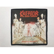 KREATOR patch printed Terrible Certainty