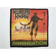 KUBLAI KHAN patch printed Annihilation