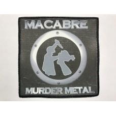 MACABRE patch printed Murder Metal