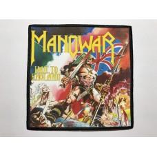 MANOWAR patch printed Hail To England
