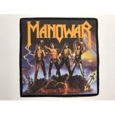 MANOWAR patch printed Fighting The World