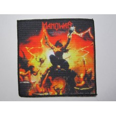 MANOWAR patch printed The Triumph of Steel