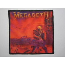 MEGADETH patch printed Peace Sells... But Who's Buying?