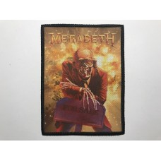 MEGADETH patch printed Peace Sells