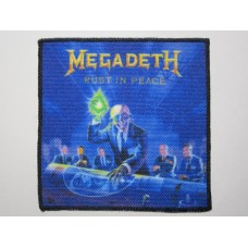 MEGADETH patch printed Rust In Peace