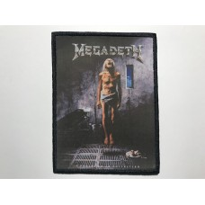 MEGADETH patch printed Countdown to Extinction