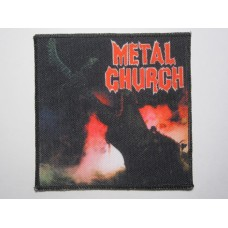 METAL CHURCH patch printed