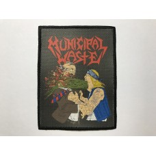 MUNICIPAL WASTE patch printed