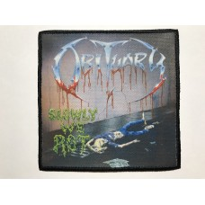 OBITUARY patch printed Slowly We Rot