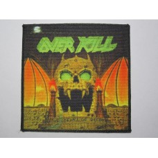 OVERKILL patch printed The Years of Decay