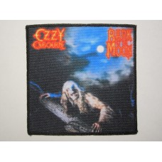 OZZY OSBOURNE patch printed Bark at the Moon