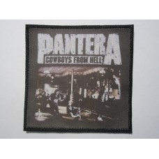 PANTERA patch printed Cowboys From Hell