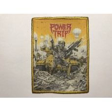 POWER TRIP patch printed Opening Fire