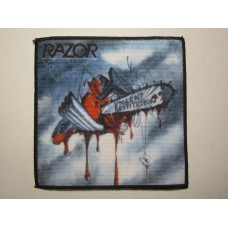 RAZOR patch printed Violent Restitution