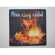 RUNNING WILD patch printed Branded and Exiled
