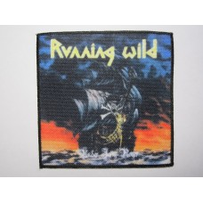 RUNNING WILD patch printed Under Jolly Roger