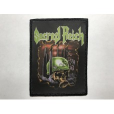 SACRED REICH patch printed